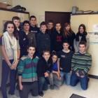 Les élèves impliqués dans l'organisation de la journée