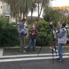 De jeunes journalistes au collège Daniel Argote d'Orthez